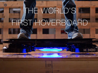 Hendo Hoverboards - World's first REAL hoverboard