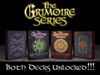The Grimoire Series, Pt. 1 Playing Cards by Edgy Brothers