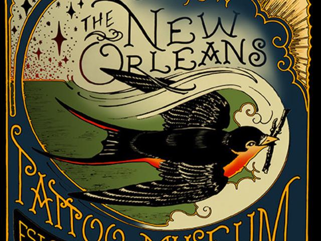 The new orleans tattoo museum by adam montegut kickstarter for Tattoo artists in new orleans