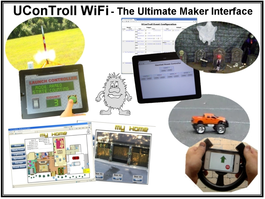 uConTroll WiFi - The Ultimate Maker Interface's video poster
