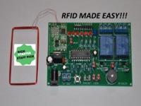 The RFID123 Arduino Compatible RFID Reader  - Decoder Set