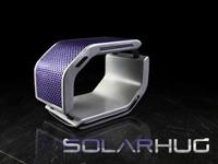 SolarHug Bracelet: External Charger powered by the Sun
