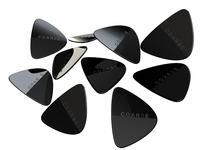 COARSE PICKS | Guitar picks with gritty, raspy tone