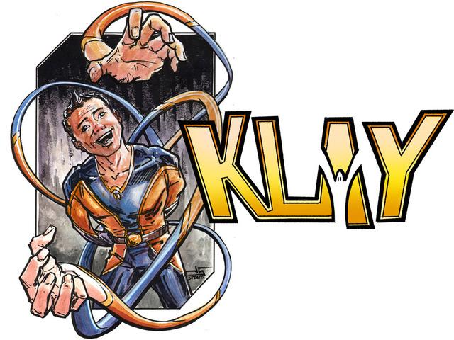 "KLAY: A super hero ""Quickstarter"" (7 days only!) comic book's video poster"