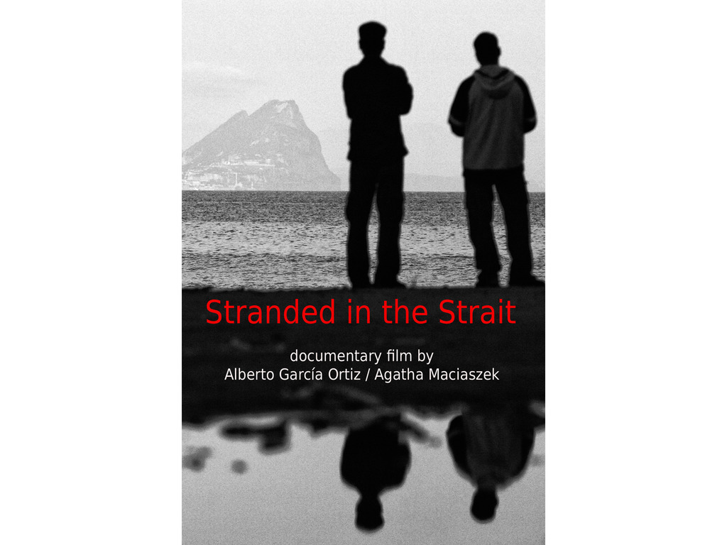 """Stranded in the strait"" documentary film's video poster"