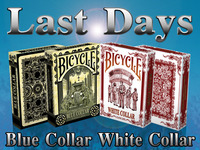 Bicycle Blue & White Collar Playing Cards