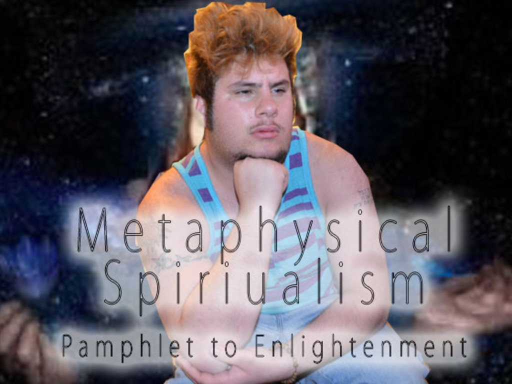 Metaphysical Spiritualism - Pamphlet to Enlightenment's video poster
