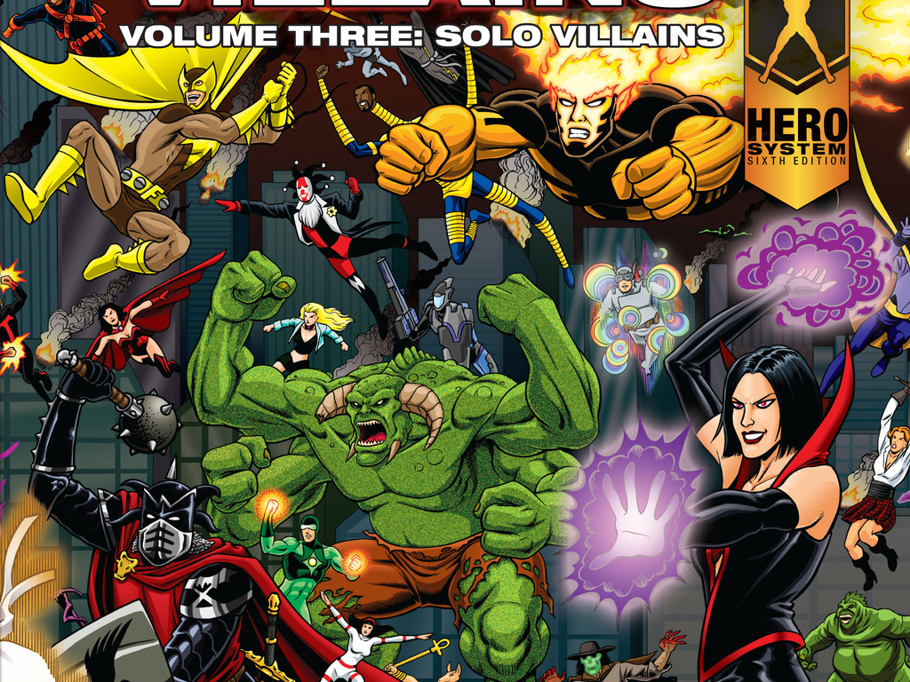 Champions Villains 3: Solo Villains's video poster
