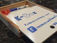 K-Box - The Whiteboard  Dice Box