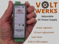 VoltWerks - Precisely adjustable power supply for your lab