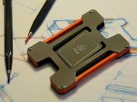 Matrix - Titanium and Carbon Fiber Credit Card Holder.