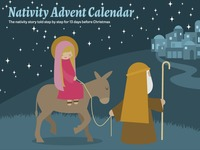 Nativity Advent Calendar Kit