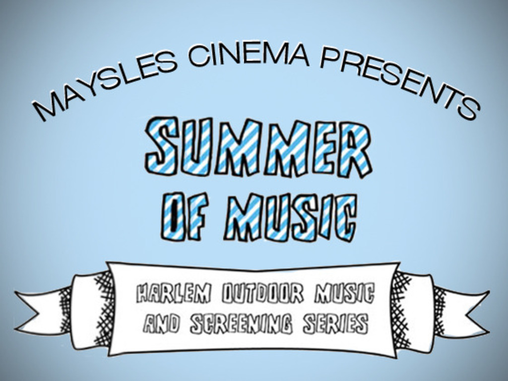 The Maysles Cinema's Outdoor Live Music and Film Series's video poster