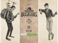 BUSKERS by Mana Playing Cards