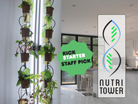 The NutriTower - indoor gardening made easy!