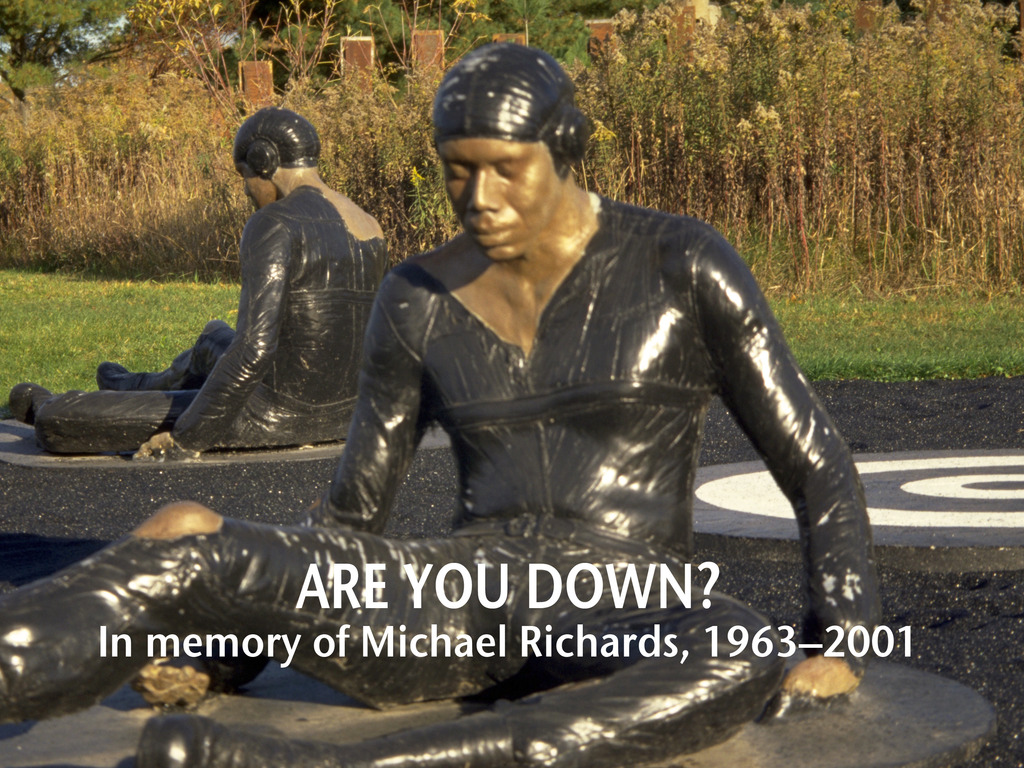 Are You Down? Tribute to Artist Michael Richards @ Franconia's video poster