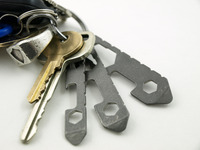 UT (Ultralight Titanium) Keychain