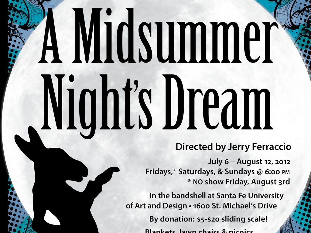 Summer Shakespeare in Santa Fe's video poster