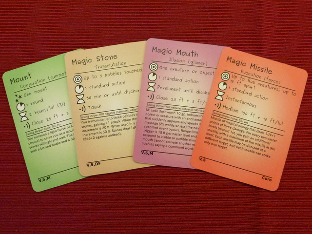image regarding Printable 5e Spell Cards named Total Crowdfunding Thread, Mark I - Webpage 9