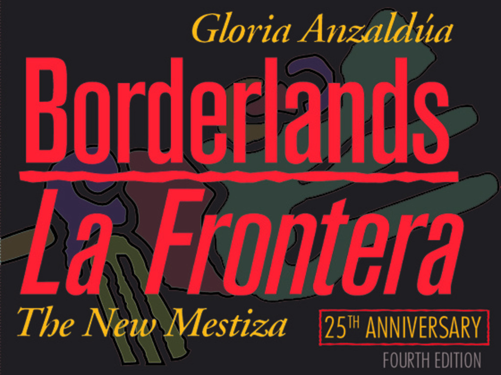 Print & Distribute 4th Edition of Borderlands/La Frontera's video poster