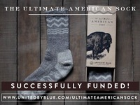 The Ultimate American Sock: Made from Bison Wool