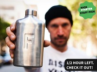 Fred Water Flask = More Water, Less Sugar