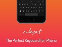 Next Keyboard - The Perfect Keyboard for iPhone