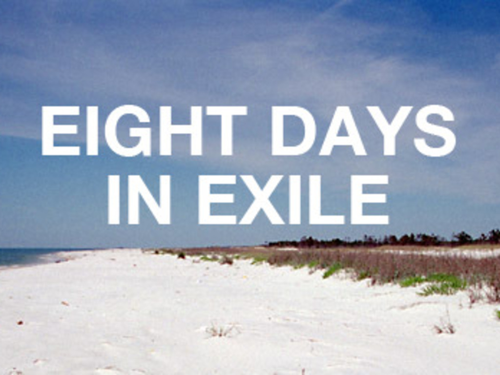 Eight Days in Exile (Effects of the BP oil spill)'s video poster