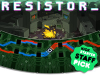 RESISTOR_: Hacking on the brink of nuclear destruction