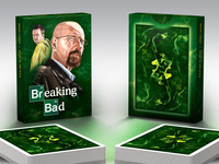 Breaking Bad Playing Cards by Albino Dragon