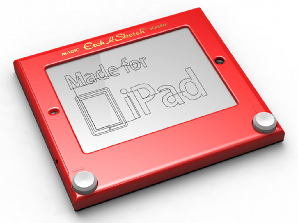 Etcher: Etch A Sketch for iPad's video poster