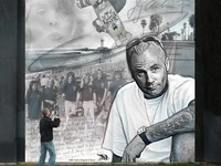 """JAY ADAMS MEMORIAL""  Mural by HEX TGO"