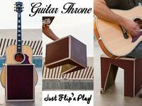 Guitar Throne: Just Flip N' Play
