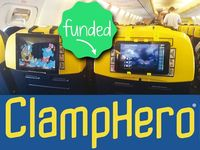 ClampHero - Smartphone and tablet mount for travelling