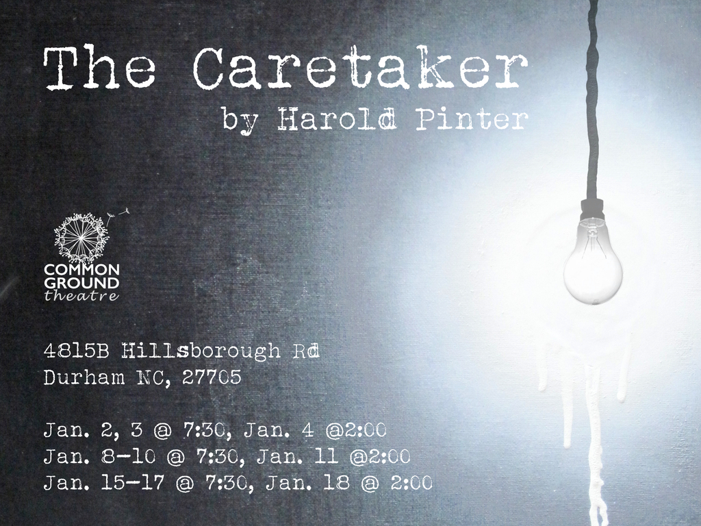 The Caretaker by Harold Pinter's video poster