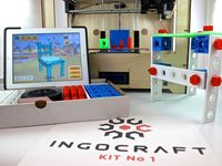 Ingocraft: 3D Printable Construction Set and 3D Modeling App