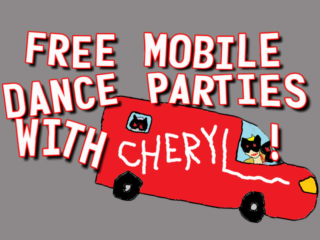 Free mobile dance parties with CHERYL!'s video poster
