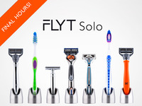 Solo - Minimalist Razor Stand and Toothbrush Holder