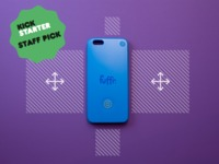 The Fuffr Touch Case – Multitouch Outside Your Smartphone