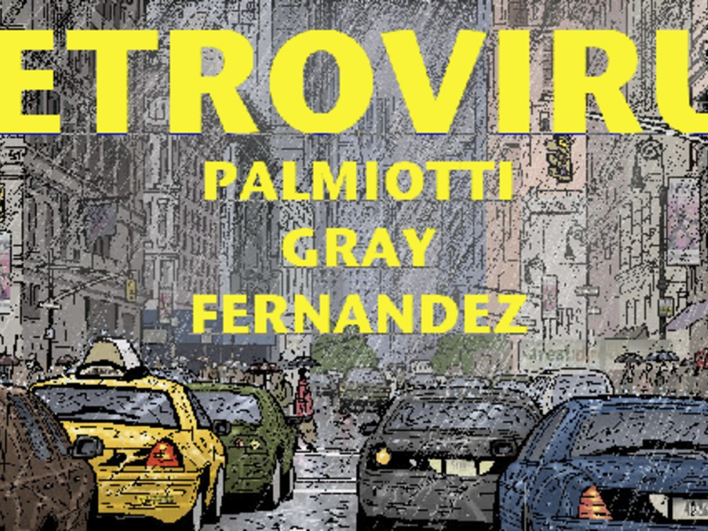 RETROVIRUS graphic novel By Jimmy Palmiotti & Justin Gray's video poster
