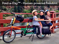 Haul-a-Day - The strong & light cargo bike built for sharing