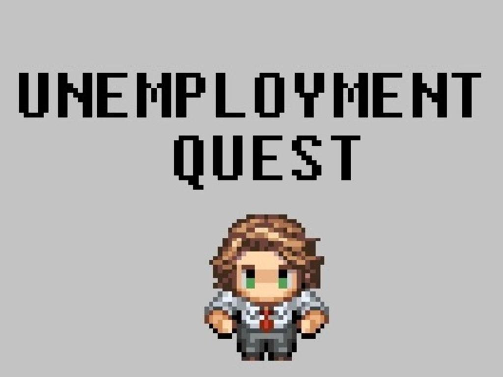 Unemployment Quest! - a non-epic RPG's video poster