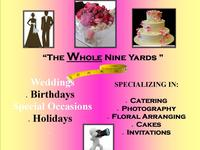 """The Whole Nine Yards"" Wedding & Event Planning"
