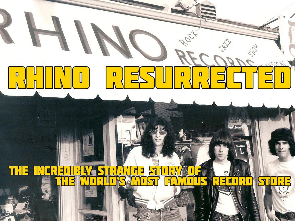 """Rhino Resurrected"" Needs One Last Push! (Rhino Records Doc)'s video poster"