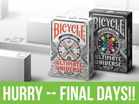 Bicycle Ultimate Universe Playing Cards