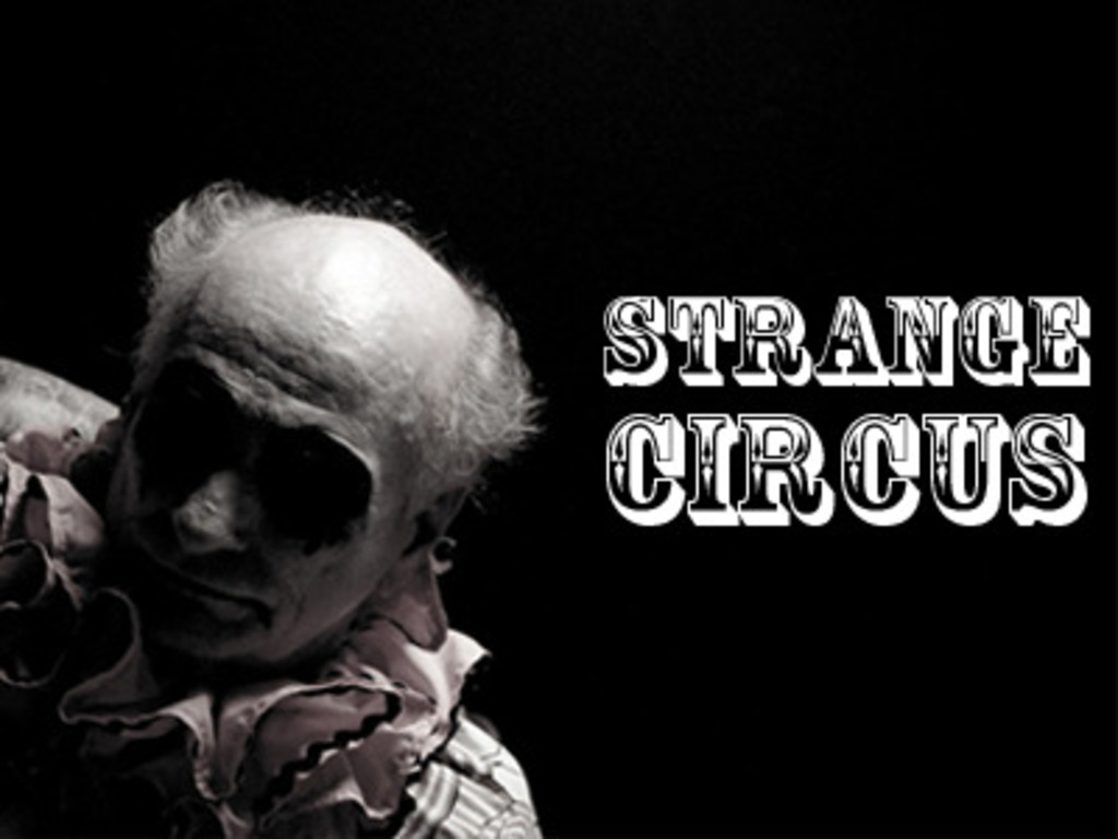 Strange Circus, a short film's video poster