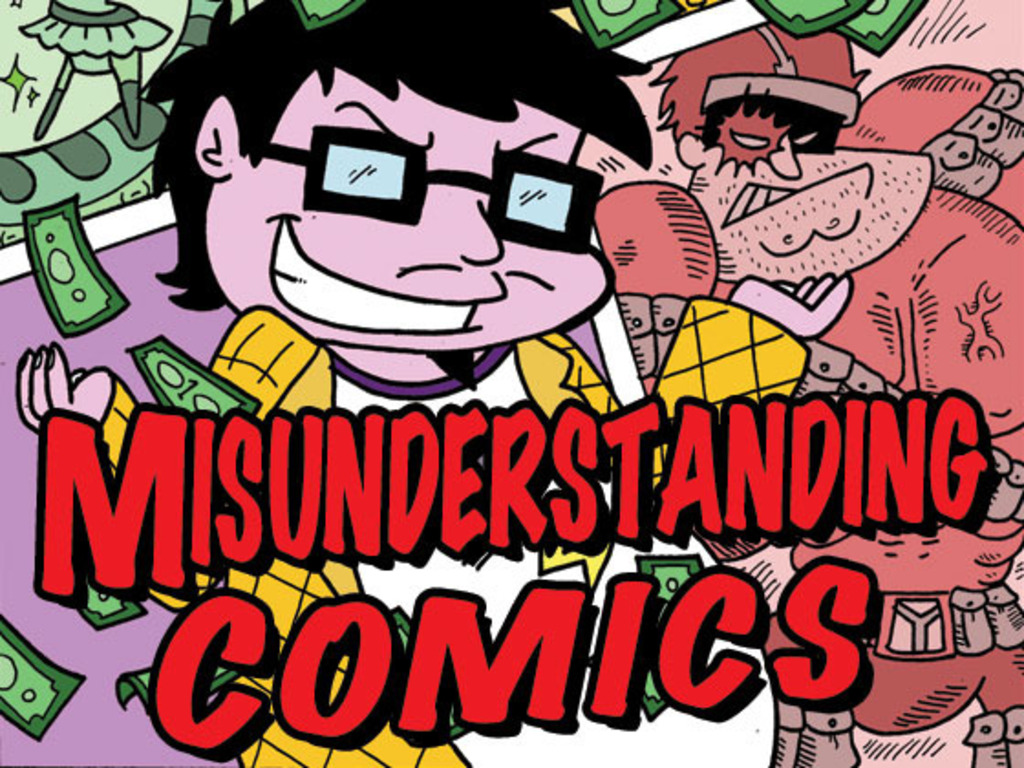 Misunderstanding Comics's video poster