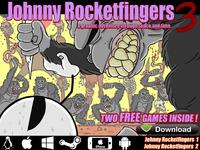 Johnny Rocketfingers 3: Hand-Drawn Point & Click Adventure!