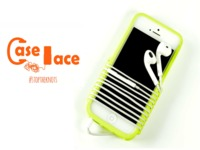 Caselace - tangle-free customizable phone/MP3 player case
