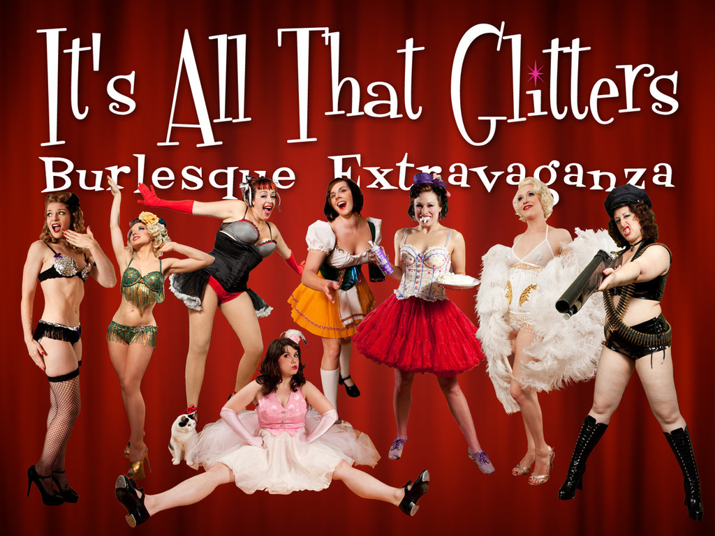 It's All That Glitters: Burlesque Extravaganza's video poster